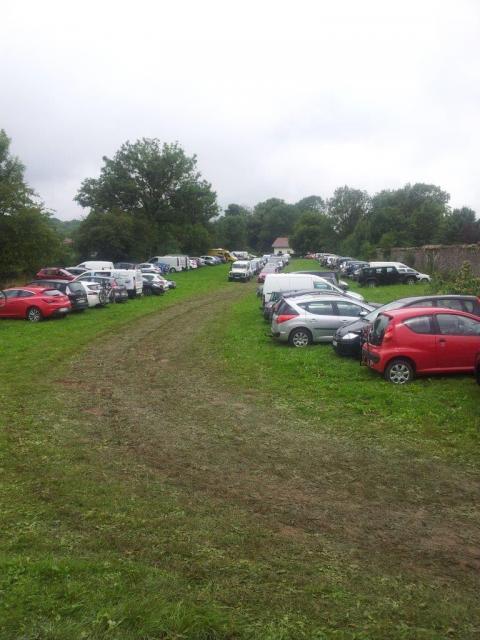 Un parking deja bien rempli