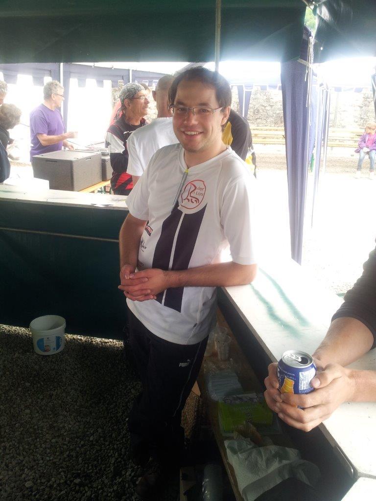 Tjs des bénévoles et avec le sourire