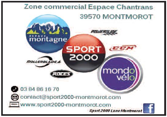 Magasin de sport sport 2000